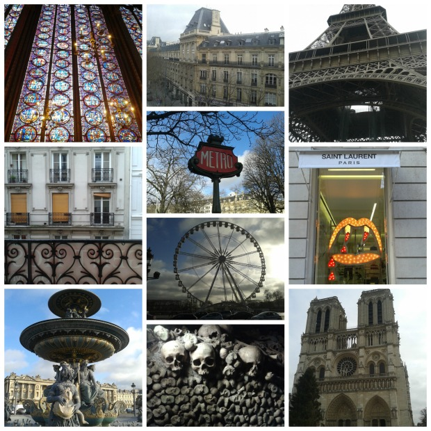 Paris Collage (Jan 2014)